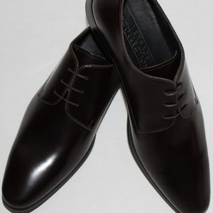 VERSACE COLLECTION SPAZZOLATO DRESS SHOES